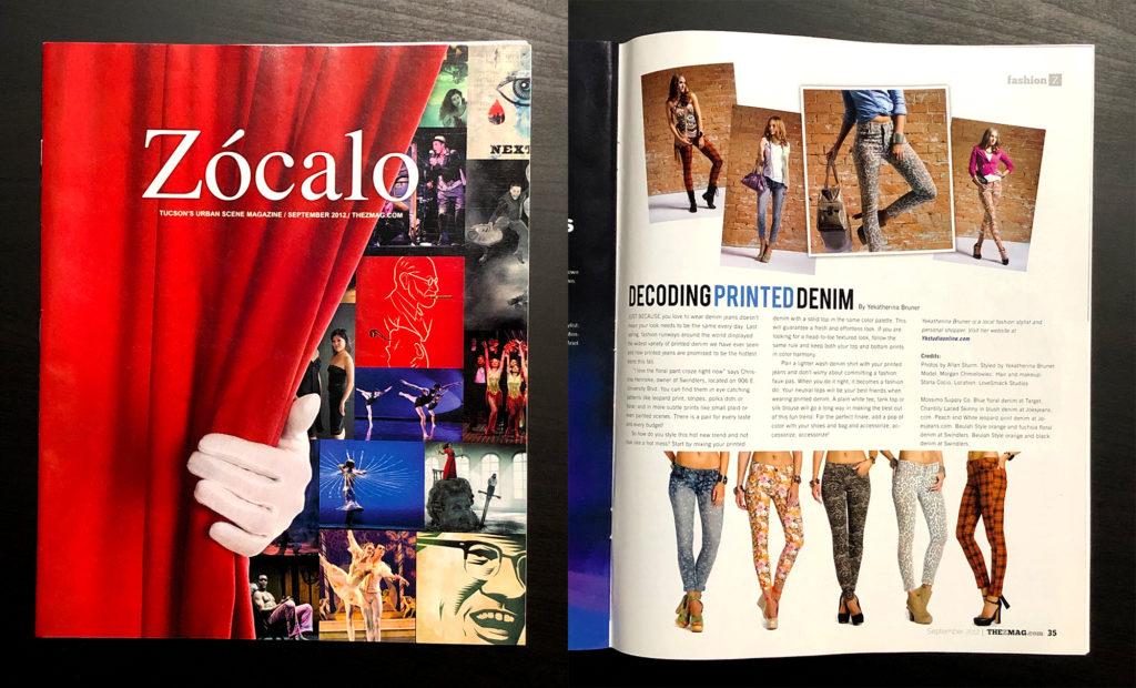 Zocalo Magazine, Tucson, Allan Sturm Photography